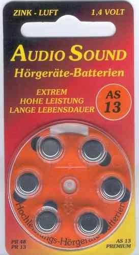 Audio Sound Batterien 13 AS