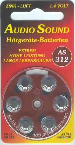 Audio Sound Batterien 312