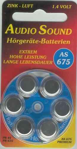 Audio Sound Batterien 675