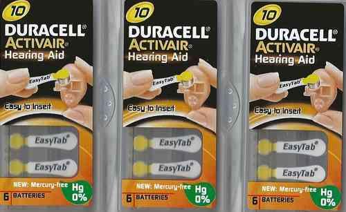 Vorteilspackung Duracell D 10