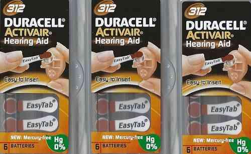 Vorteilspackung Duracell D 312