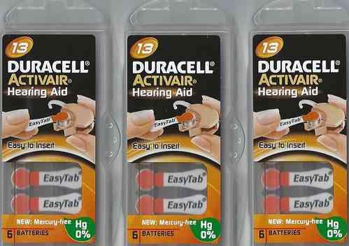 Vorteilspackung Duracell D 13
