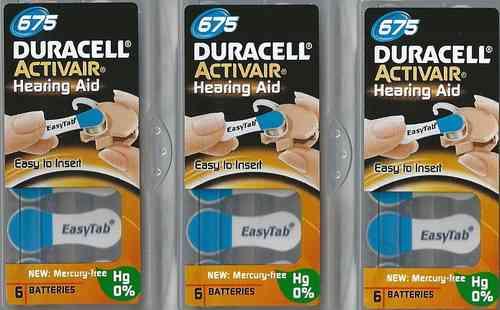 Vorteilspackung Duracell D 675