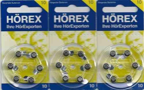 Vorteilspackung Hörex 10