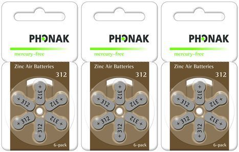 Vorteilspackung Phonak 312