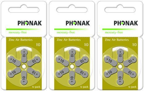 Vorteilspackung Phonak 10