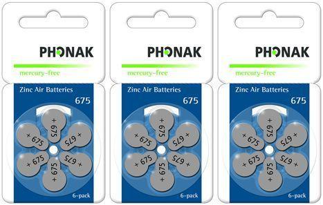 Vorteilspackung Phonak 675