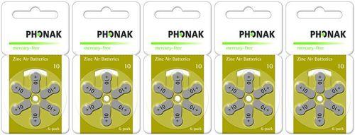 Sparpackung Phonak 10